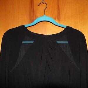 Lauren Ralph Lauren Black Long Sleeve Dress 16